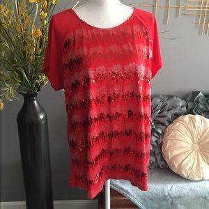 Tops - Sequin blouse